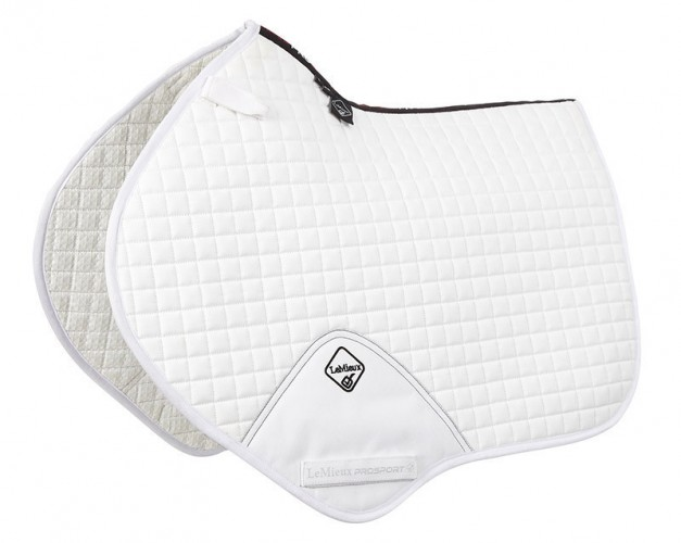 LeMieux Close Contatct Saddlecloth white
