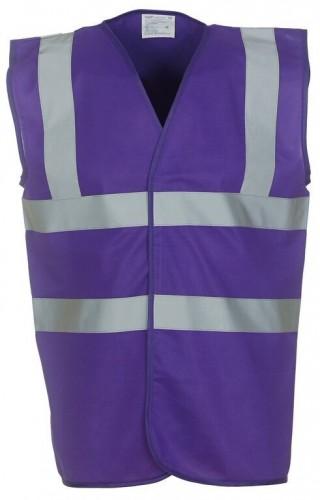 Purple High Viz Tabard