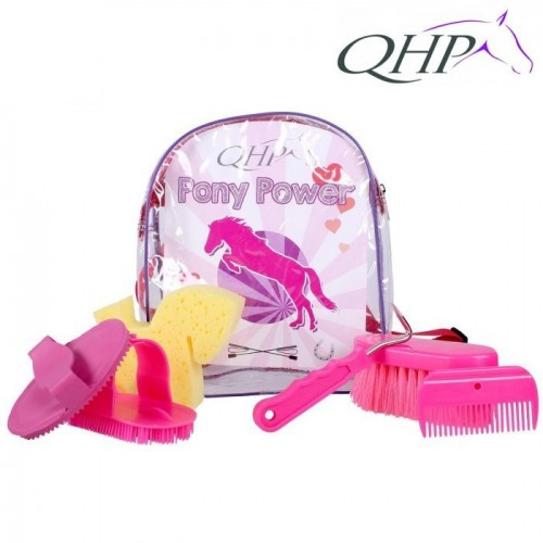 QHP Pony Power Grooming Backpack image #