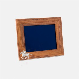 Race Horse Photo Frame