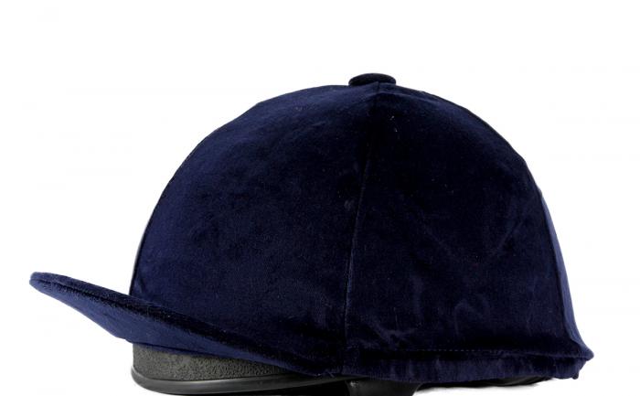 Velvet Riding Hat Cover image #