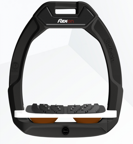 Flex-on Safe-on Black Brown elastomers.
