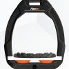 Flex-on Safe-on Black Orange elastomers.