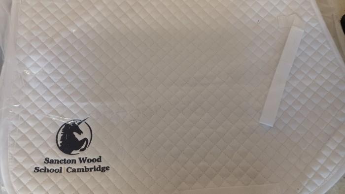 Sancton Wood School Saddlecloth image #