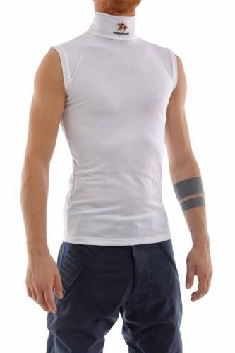 Ornella Prosperi Sleeveless Breathable Jersey Shirt