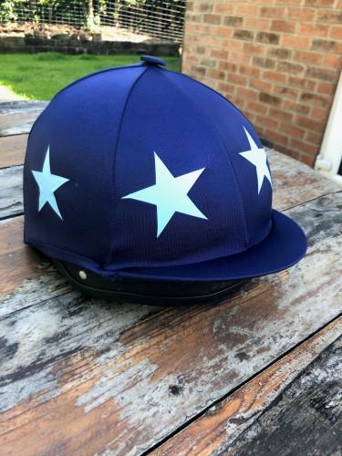South Notts Pony Club Hat Silk image #