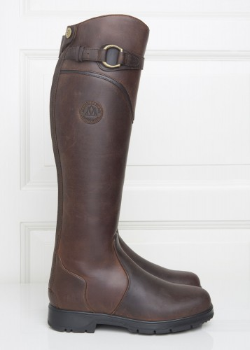 Spring River in Brown Mountain Horse Tall Boot