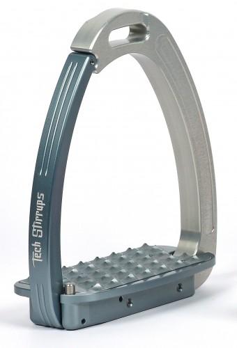 Silver/ Titanium Venice Tech Stirrups