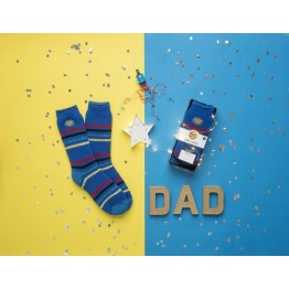 Super Dad Gift Socks
