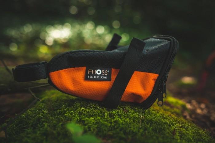 FHOSS Illuminated Bicycle Tail Bag image #
