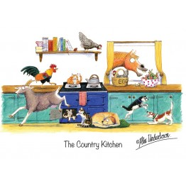 Country Greeting Cards - Alex Underdown