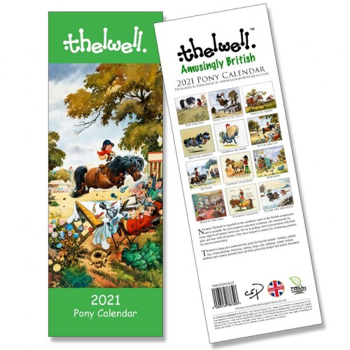 Thelwell's Pony Calendar 2021 image #