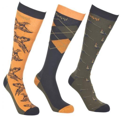 Toggi Godard Socks , NB the colour in reality is more orange colour than mustard,