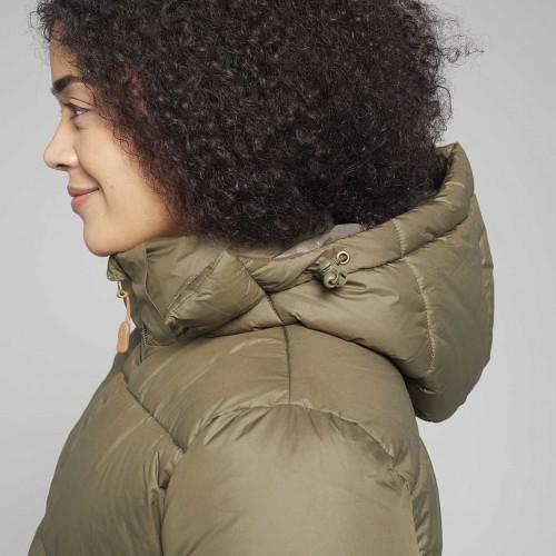 Coat Left Side showing removable hood