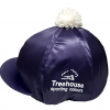 Navy Treehouse Hat Silk