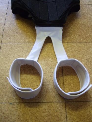 The Jockey Vest leg straps