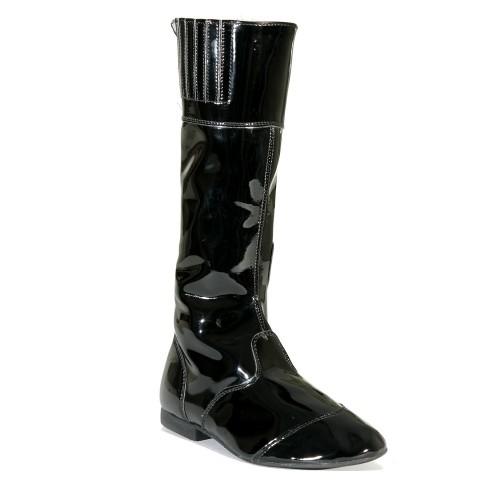 Black/Black Malton Childrens Jockey Boots