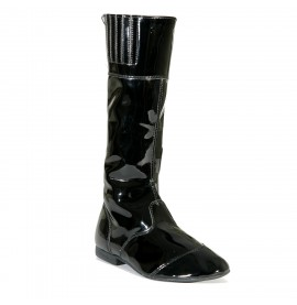 Black/Black Malton Childrens Jockey Boots