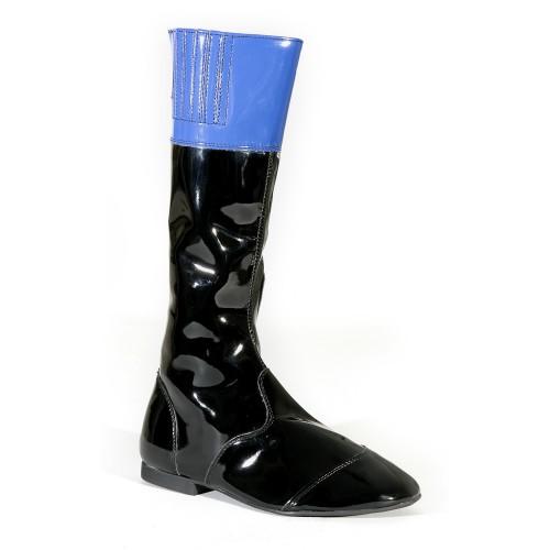Black/Royal Malton Childrens Jockey Boots
