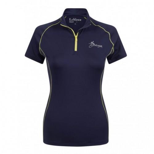 Navy/Citron UV Shirt