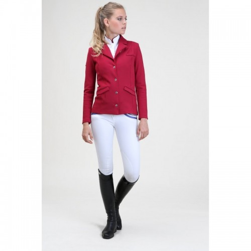 Hanna Jacket in Raspberry