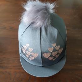 Multi-Heart Lycra Hatcover
