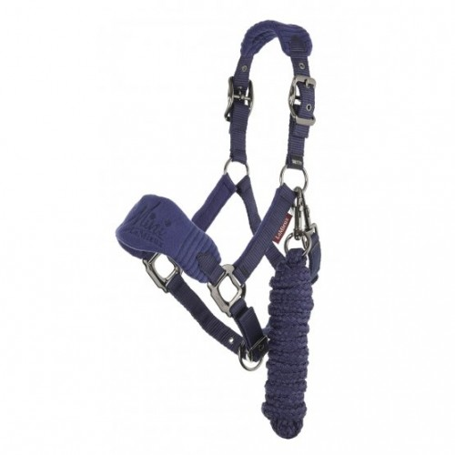 Ink Blue Mini LeMieux headcollar