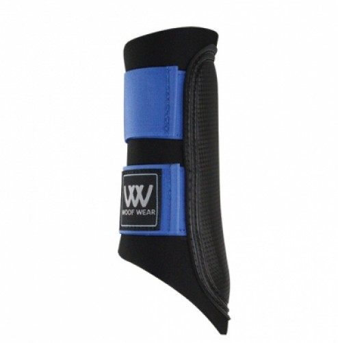 Electric Blue WoofWear Club Brushing Boot Colour Fusion