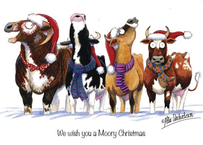We wish you a Moory Christmas