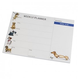 Small Dogs Bryn Parry Weekly Planner
