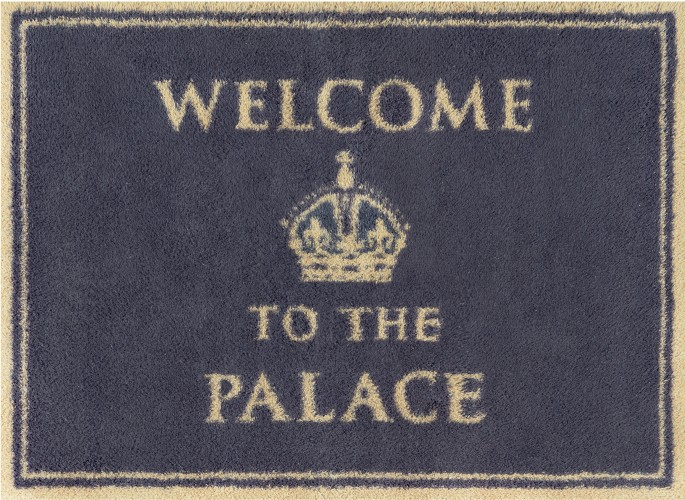 Welcome to the Palace Turtle Mat
