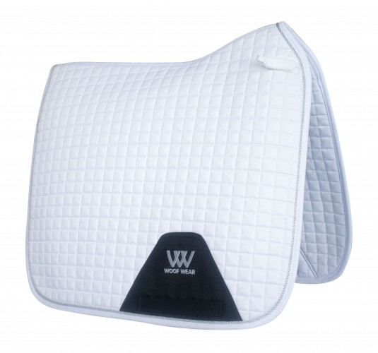 White Woofwear Dressage Pad