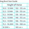 Woof Size chart