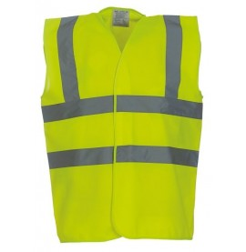 Yellow High Viz Tabard