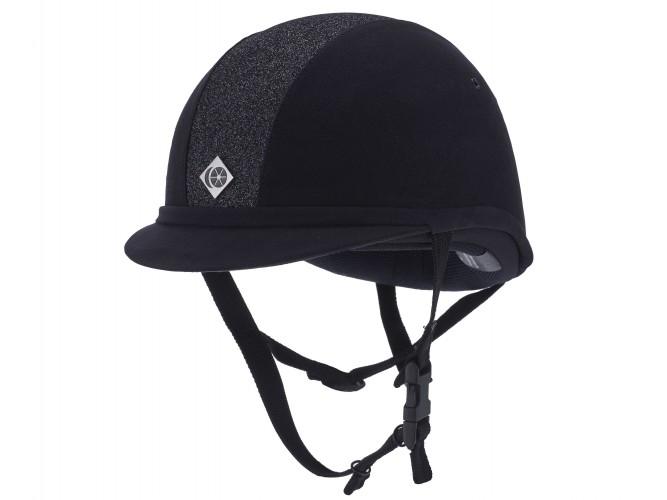 YR8 Navy Sparkly Charles Owen Hat