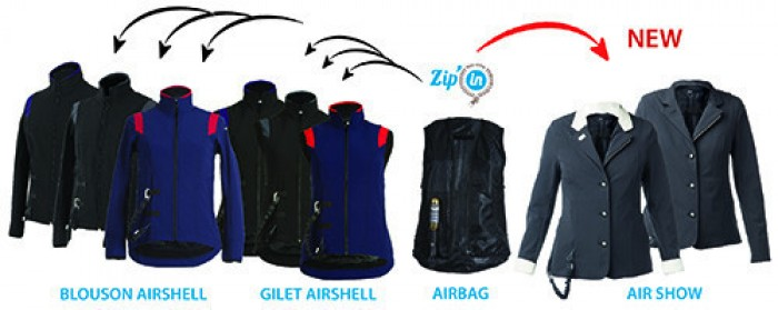 The Helite Air Shell Gilet Range